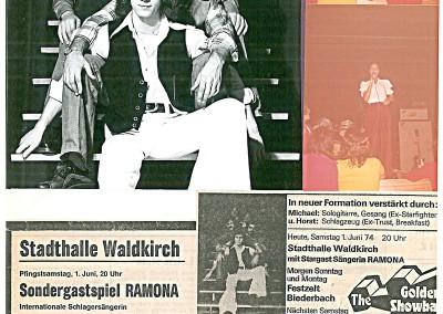 01.06.1974-Stadthalle-Waldkirch Neue Besetzung