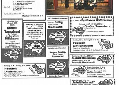 07.und 08.1980 Zeitung +Haziena Wettelbrunn-