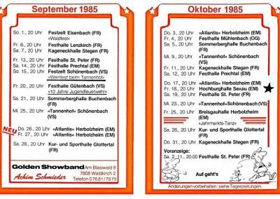 1985-09.& 10.TOUR-EXPRESS