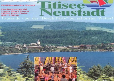 1989 -Titisee --Beach Party-Seebühne