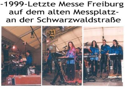 1999 letzte Messe auf dem alten Messplatz in Freiburg