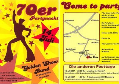 2007 70er Partynacht Heuweiler