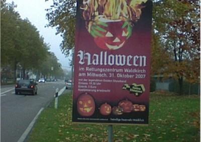 Halloween-Plakat 2007