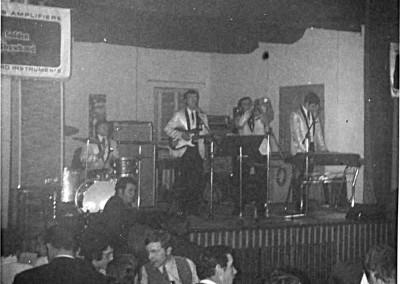 Kronen-Saal Simonswald Frühjahr 1970