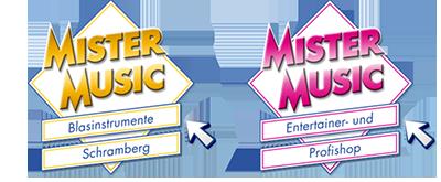 Gelistet bei Mister Music