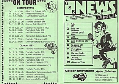 09. & 10. 1983 TOUR-EXPRESS