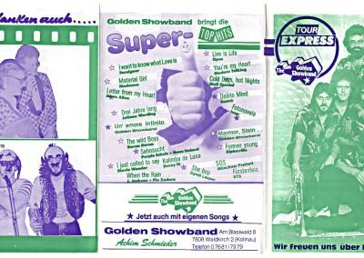 05. & 06. 1985 TOUR-EXPRESSRückseite