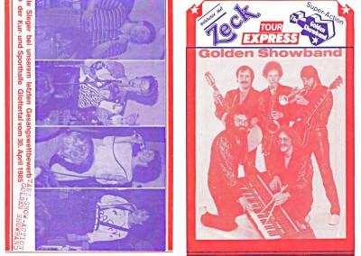 07. & 08. 1985  TOUR-EXPRESS 1.+ 4. Seite