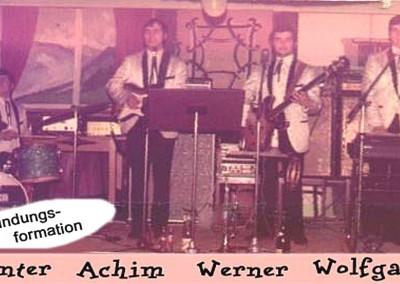 1970 Gründungs-Formation Januar
