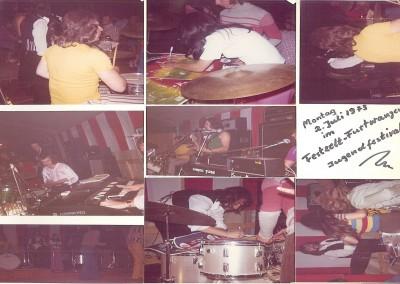 2.7.1973 Jugendfestival Festzelt Furtwangen