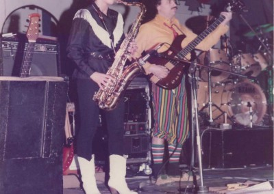 1984 Rosenmontagsball - Breisgauhalle Herbolzheim - Johanna am Saxofon