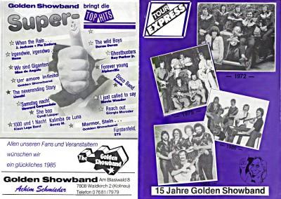 1985 TOUR-EXPRESS 15 Jahre GSB