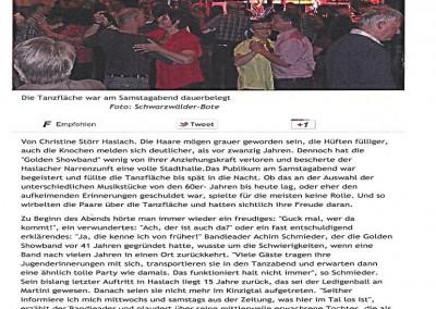 Golden Showband - 2012-Schwarzwälder Bote