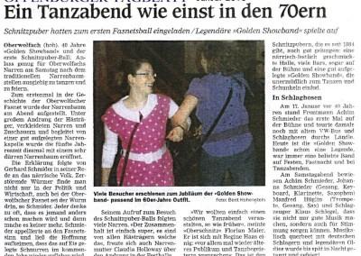 Oberwolfach-40 Jahre GSB 2010